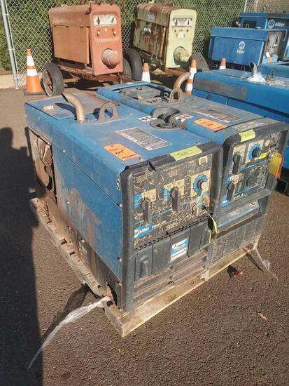 Miller Bobcat 250 CC/CV, AC/DC welder and 10000 watt generator, 80 max OCV, (engine issue)