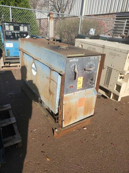 Miller Big40 DC constant current arc welder / generator, 90 max OCV,