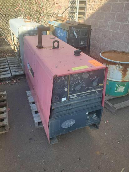 Lincoln Ranger 10 welder / generator, 80 max OCV, 5130 hrs