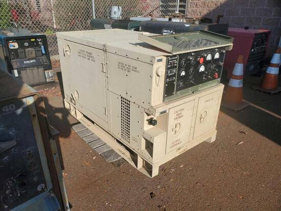 2011 Military NATO Standard generator set with diesel engine, mn MEP-813A, manufactored by DRS