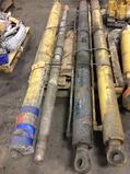 Lot of (3) asst CAT rock truck dump cylinders