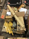 Lot of asst CAT paver parts, contents of (1) skid
