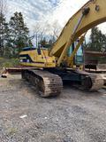 2005 CAT 345BL Excavator, Air Conditioner, Straight Travel Pedal, 11 ft 3 in. Stick, Auxiliary
