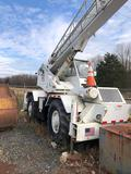 P&H Omega 20 4 X 4 rough terrain Crane, Detroit Diesel, 26 ft Minimum 62 ft Maximum Boom Length, 22