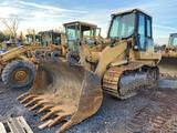 2001 CAT 963C Track Loader, Enclosed Cab, Air Conditioner, Hydrostatic Drive, 100 in Bucket, Double