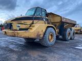 2003 CAT 740 Articulated Haul Truck, Air Conditioner, Retarder, Emergency Steering, Air Ride Seat,