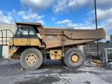 1999 CAT 769D Off Hwy Truck, Air Conditioner, Retarder, Emergency Steering, Heated Body, Tailgate,