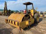 1987 Dynapac CA25D smooth drum vibratory roller, 84