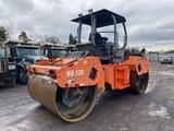 2009 Hamm HD120 Roller, Open Operator Station, Deutz 4 Cylinder Diesel Engine, 78 in, Drums, Water