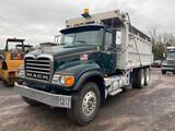 2005 Mack CV713 Dump Truck. VIN: 1M2AG11C15M035673