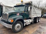 2004 Mack CV713 Dump Truck. VIN: 1M2AG11C14M013526. Meter Reads: 119,987 Miles