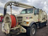 2000 Sterling Y101042 Vac Truck, 7-Speed Transmission, 18000 lb Front Axle, 23000 lb Rears, 11R22.5