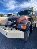 2005 Mack CV713 Tri-axle Mixer truck, McNeilus11 1/2 yard body, Maxtorque trans TM309M, 6 hi/lo
