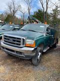2001 Ford F550 Service Truck, sn 1FDAF56F31EC00916