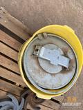 Hot oil tank hatch