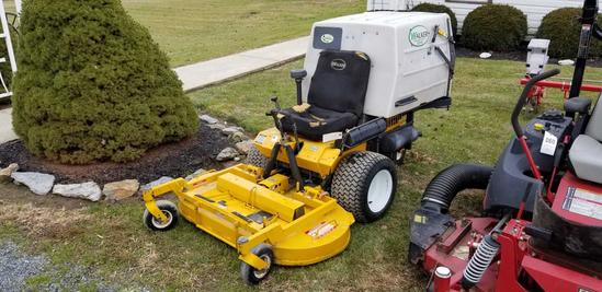 Walker zero turn mower, 925 hrs, Model MTGHS
