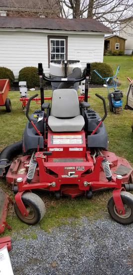 Ferris IS2000Z, zero turn mower, 61 in. deck , 26 hp. Kawasaki engine, w/ catcher, 1 owner machine