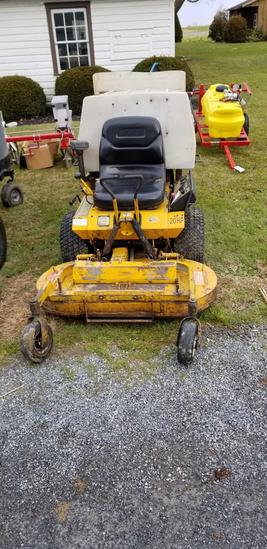 "Walker Mower (Weaker Hydros when running hot) 42"" Deck"