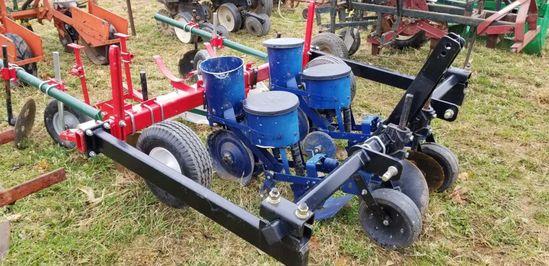 Hehai 2 Row Sweet Corn Planter w/ Plastic Layer Attachment