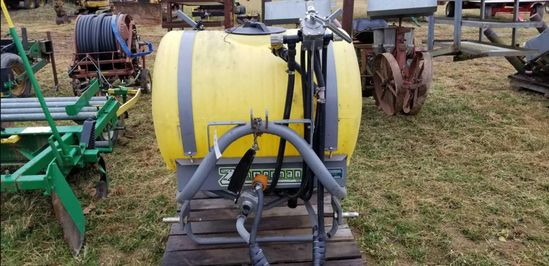 Zimerman 110 Gal 3 Pt Sprayer W/ 12 Ft Boom