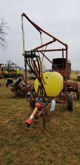 Penns Creek 300 gallon sprayer, 28' single boom