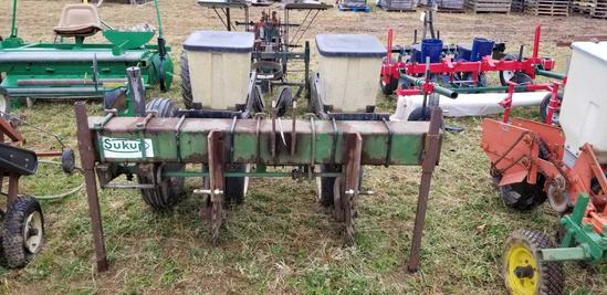 2 Row Planter with Kinzie units