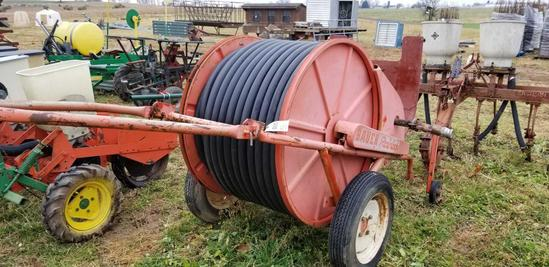 Baur Irrigation Reel with Walla Walla Gun