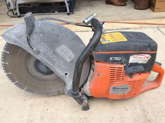 Husqvarna K 760 Concrete saw w/ 14 in blade