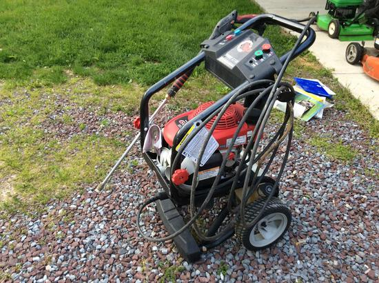 Honda GVC 190 power washer with hand wand