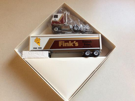 Fink's French Fries Winross truck