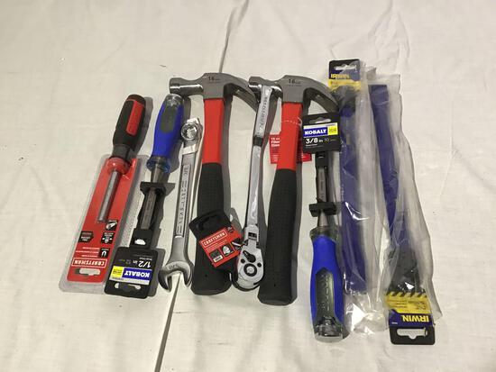 New hand tool lot