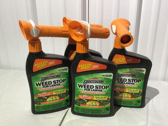 Weed stop for lawns