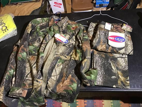 New Pro gear by Wrangler hunting clothes