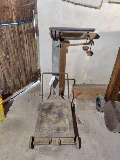 Antique Buffalo Scales