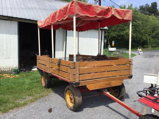 Wagon for Hayrides & Parades