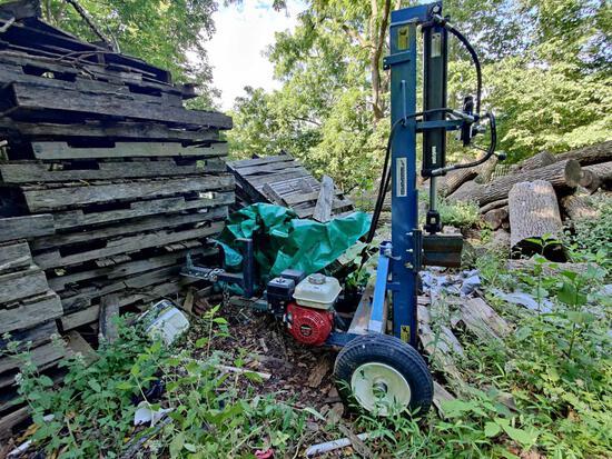 Log Splitter - Ramsplitter