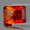 Natural AAA Orange Sphalerite 13X10 MM