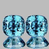 Natural AAA Seaform Blue Zircon {Flawless-VVS1}
