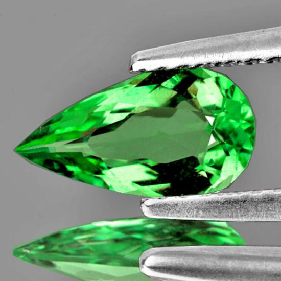 Natural AAA Green Tsavorite Garnet {Flawless-VVS1}