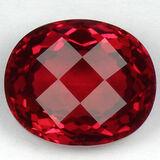 Stunning Red Topaz 34.23 carats - VVS
