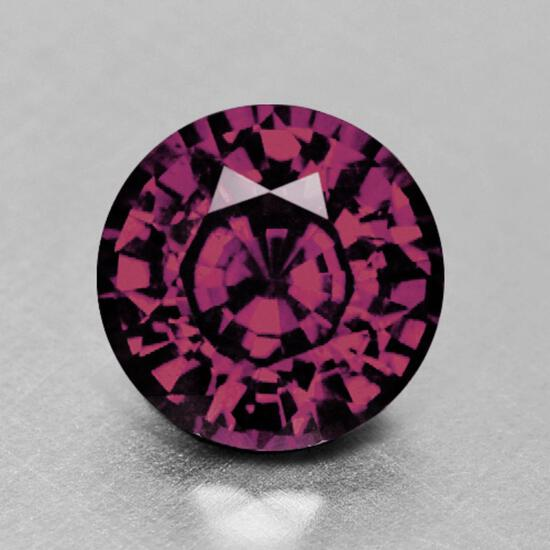 Natural Raspberry Pink Burma Spinel 7.37 MM - Untreated