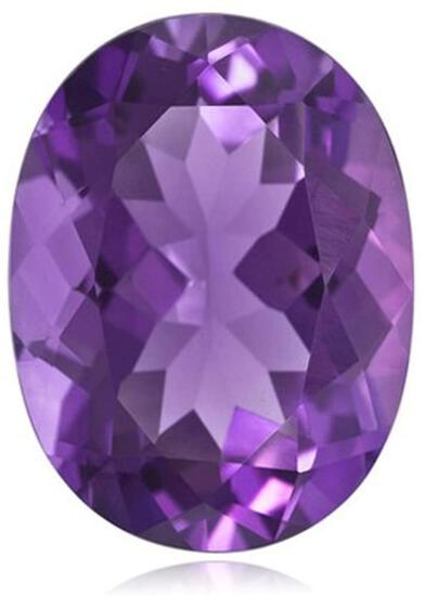 Natural Amethyst 13x10 MM - Untreated