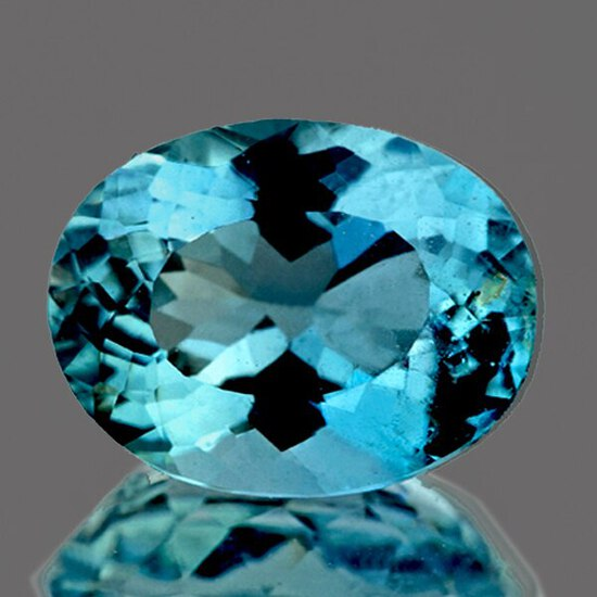 Natural Santa Maria Blue Aquamarine 6.62 Cts -Certified