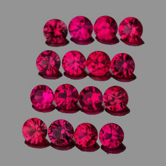 Natural  Red Burma Ruby {Flawless-VVS}