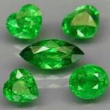 Natural Green Tsavorite Garnet