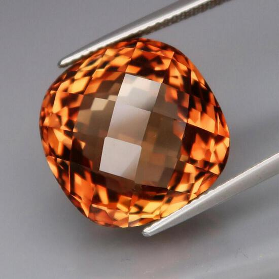 Natural Imperial Champagne Topaz 28.19 Cts