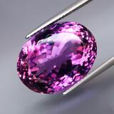 Natural Purple Amethyst 21.50 Cts - Umtreated