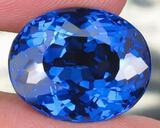 London Blue Topaz 14.01 carats- VVS