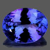 Natural Purple Blue Tanzanite [Flawless-VVS]