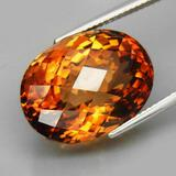 Natural Imperial Champagne Topaz 24.88 Cts